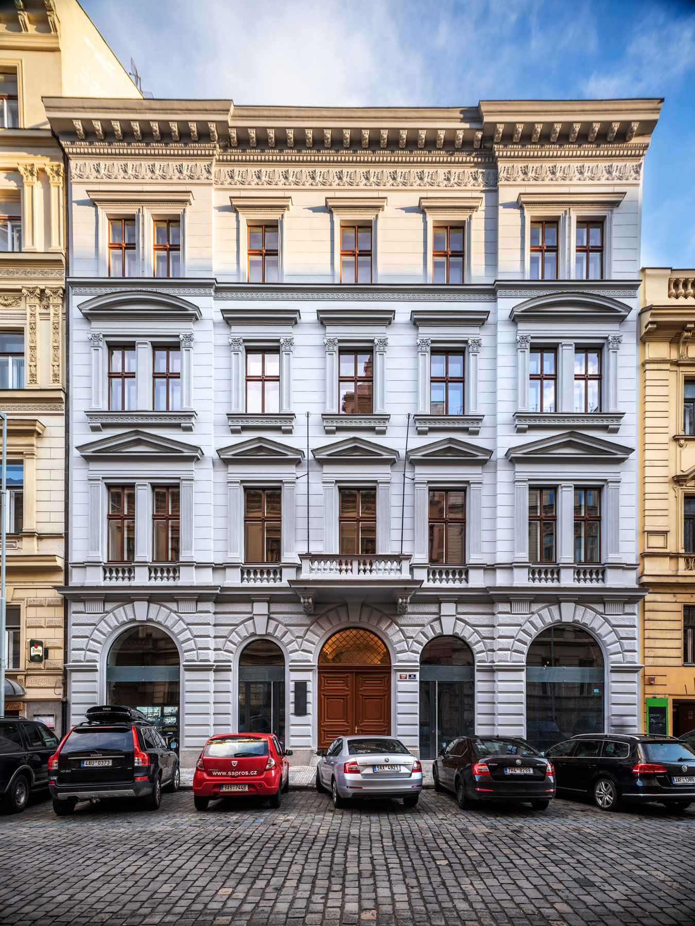 Rezidence Opletalova: Historický dům s mladistvým elánem
