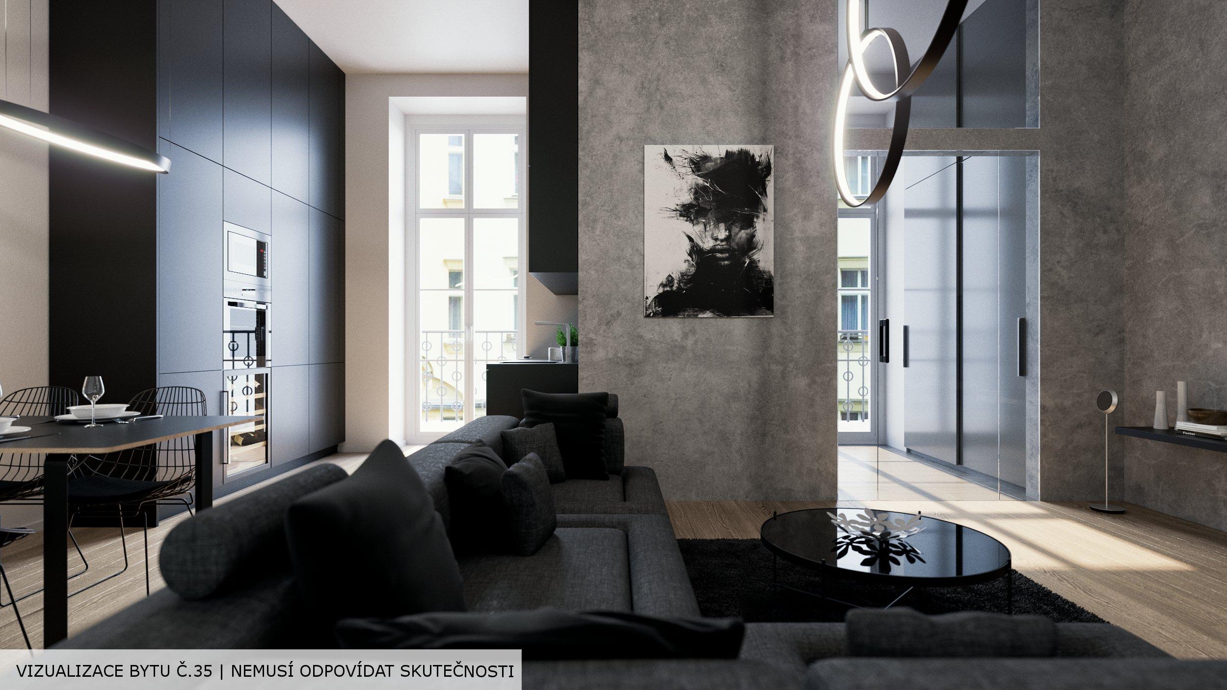 Prémiové byty v centru Prahy - rezidence Opletalova