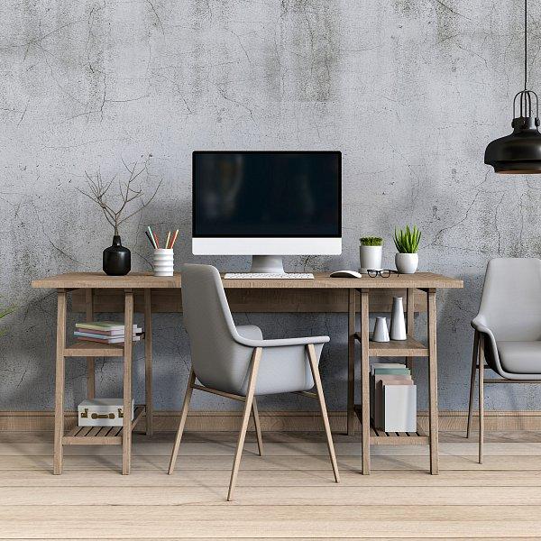 """Tipy, jak si vylepšit home office aneb Udělejte si to """"hezký"""""""
