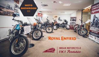 Navštivte nový moto showroom