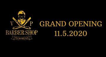 Barber Shop otevírá 11.5.!