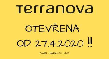 Terranova opět otevřena!