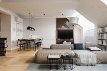 Mezonetový byt 3+kk/T/G 135,2 m2