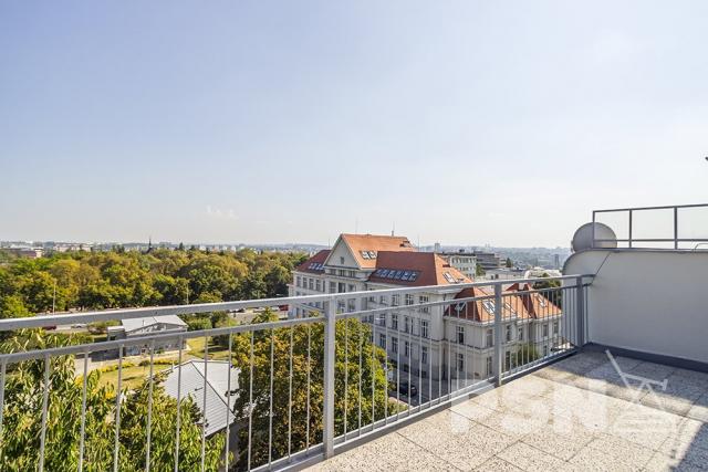 Pronájem bytu 2+kk naVinohradech Hollarovo náměstí 11, Praha3
