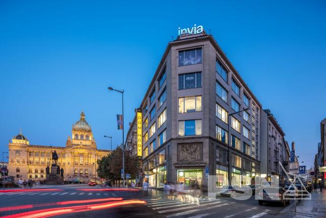 Obchodní prostory Václavské náměstí, Praha1 - Nové Město