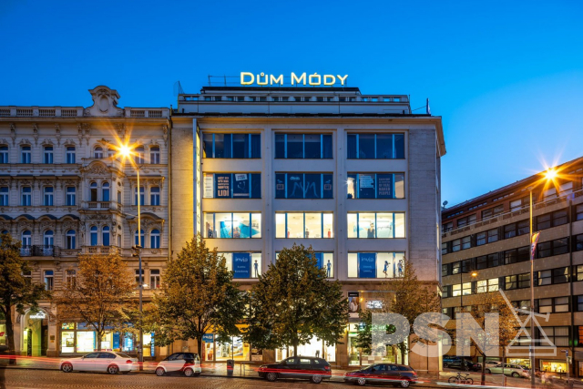 Kanceláře 400 m² Václavské náměstí, Praha1 - Nové Město