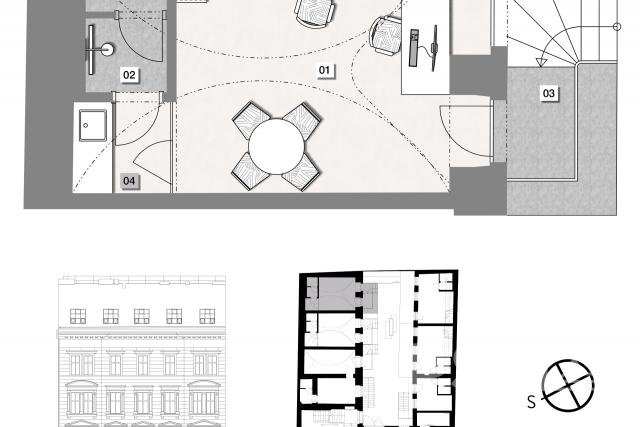 Atelier 1kk Prague 1 - Nové město, Opletalova street 1566/30 - 18/18