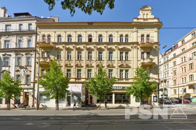 Pronájem bytu 4+1 naVinohradech Vinohradská 67, Praha 2
