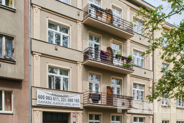 Pronájem bytu 1+kk naPraze4 Jaurisova 7, Praha 4 - Nusle
