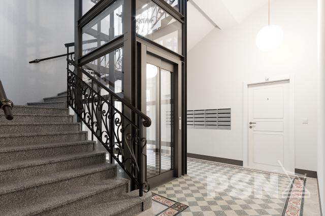 bytová jednotka - white wall