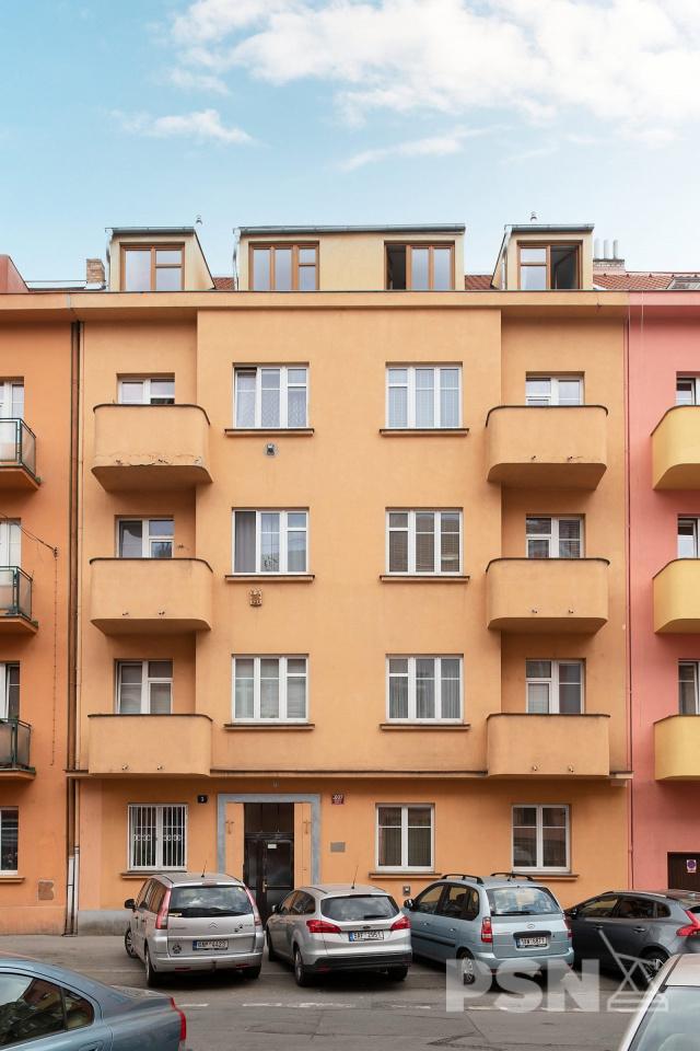 Bytová jednotka - 2+kk Kralická 1007/3, Praha 10 - Strašnice