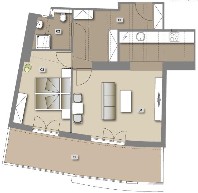 Přípotoční 35 - housing unit No.  63