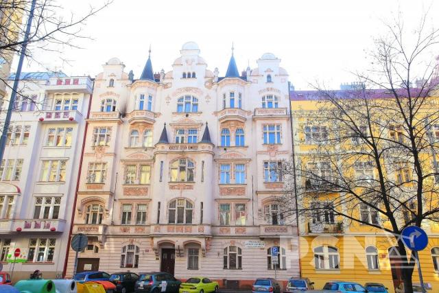 Pronájem bytu 1+1 naVinohradech Praha 2, Polská 52, Vinohrady