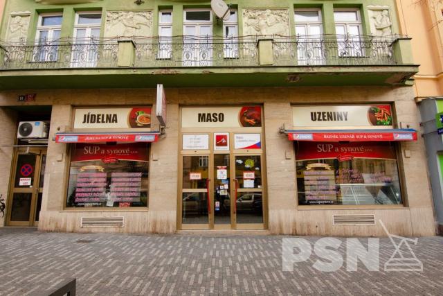 Pronájem obchodních prostor Moskevská 267/51