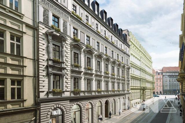 Pronájem zrekonstruovaného bytu 2+kk naPraze1 Dlážděná 1586/4, Praha 1