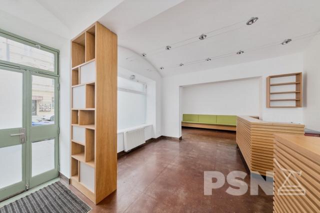 Pronájem obchodních prostor naPraze2 Jaromírova 57, Praha 2 - Nusle