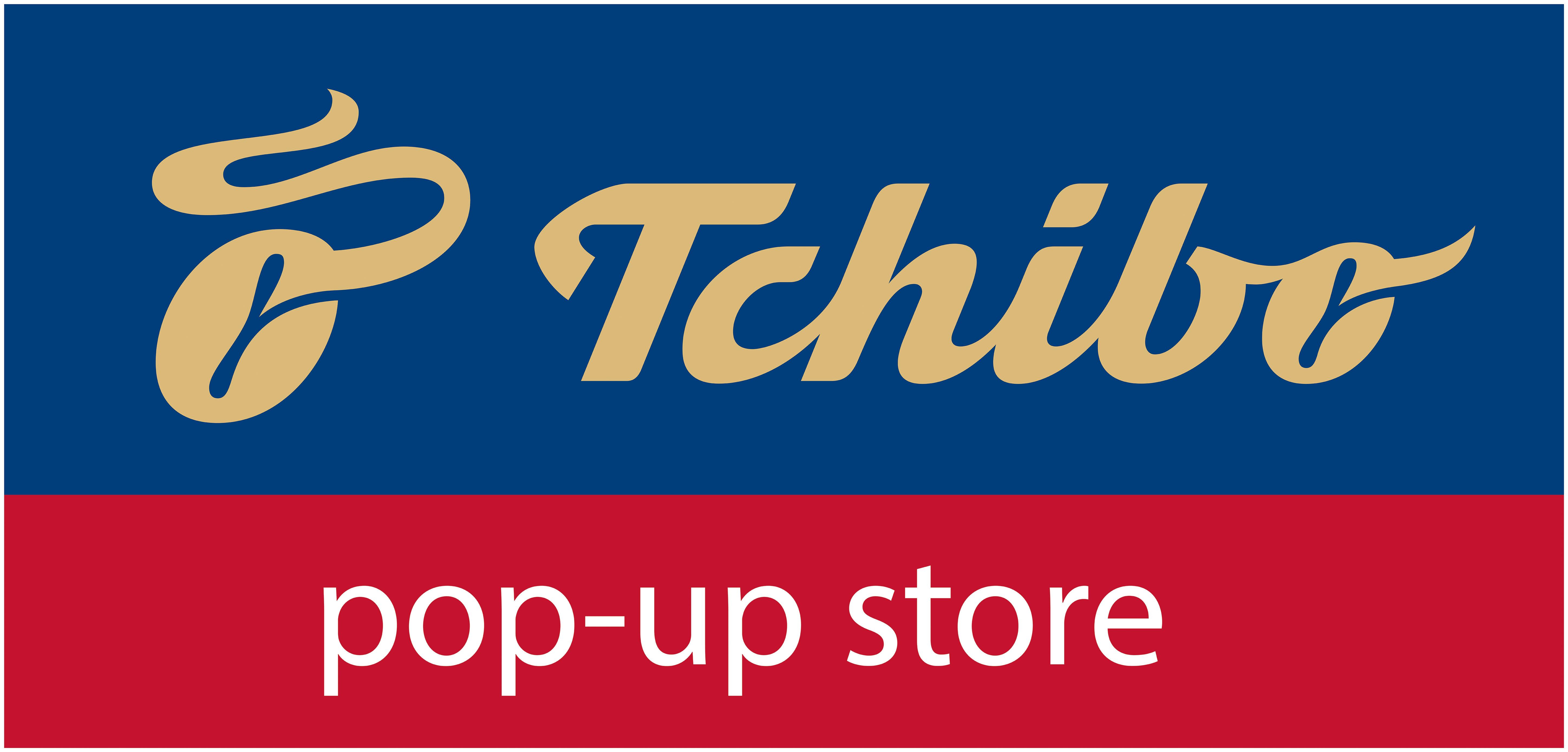 Tchibo pop-up store